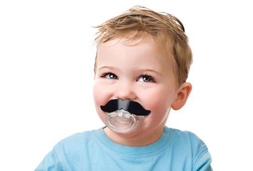 Chupeta com bigode