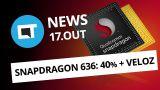 Novo Snapdragon 636 é 40% mais rápido; Google Fotos reconhece PETs e + [CT News]