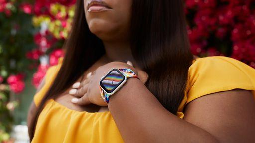 Apple lança novas pulseiras para Apple Watch inspiradas no movimento LGBTQ+