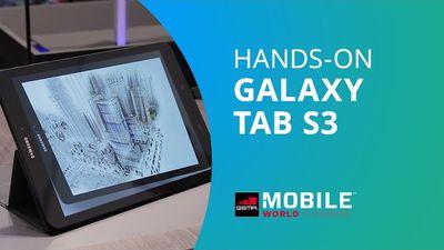 Samsung Galaxy Tab S3 [Hands-on MWC 2017]