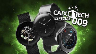 Caixotech #9: relógio mecânico e smartwatches