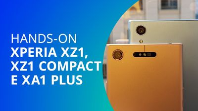 LANÇAMENTO: Sony Xperia XZ1, XZ1 Compact e XA1 Plus 2017 [Hands-on]