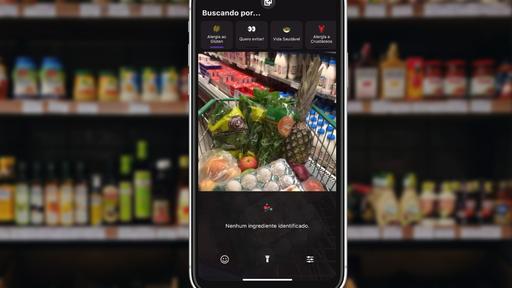 App brasileiro lê rótulo de alimentos e diz quais ingredientes eles contêm