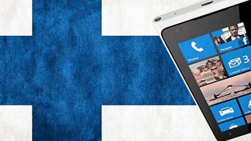 Windows Phone é líder de vendas... Na Finlândia!