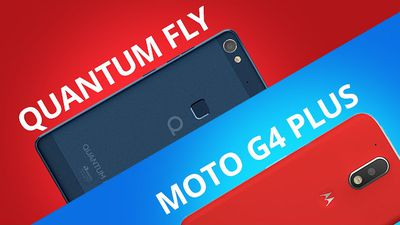 Quantum Fly vs Moto G4 Plus [Comparativo]