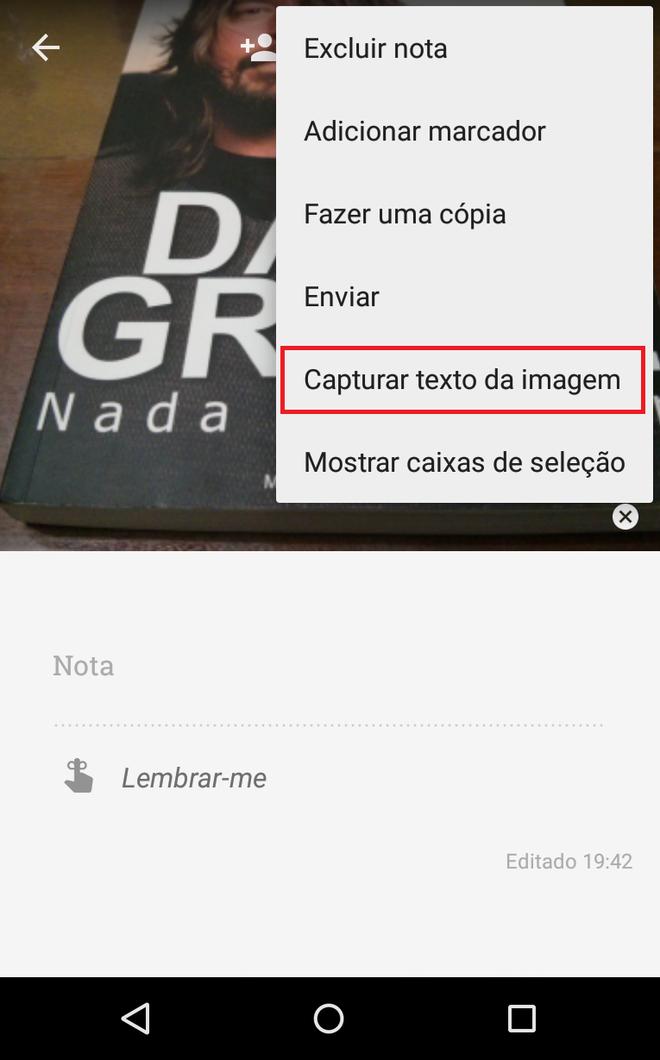 Google Keep Imagens