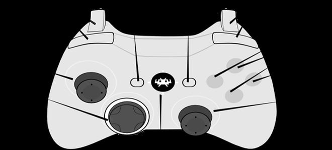 Mapear o seu joystick de acordo com este diagrama é o ideal para a maioria dos jogos