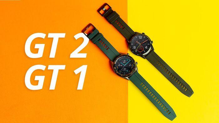 Huawei Watch GT 2 e Huawei Watch GT 1 [Análise/Review]