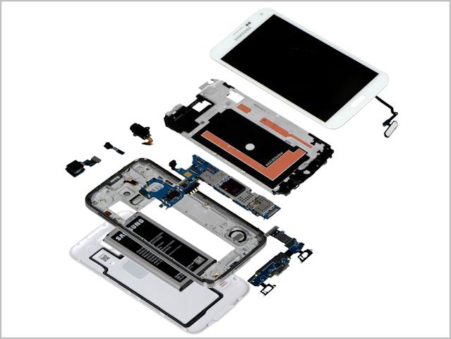 Samsung S5 em partes