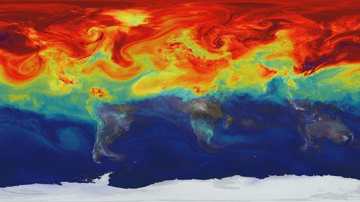 Observações da NASA mostram que humanos estão desequilibrando energia da Terra