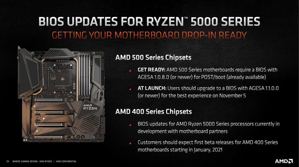 Quem já possui placa-mãe da série 400 ou 500 tem o upgrade para a terceira geração do Ryzen garantido