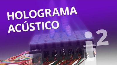 Holograma acústico levita objetos com o som [Inovação ²]