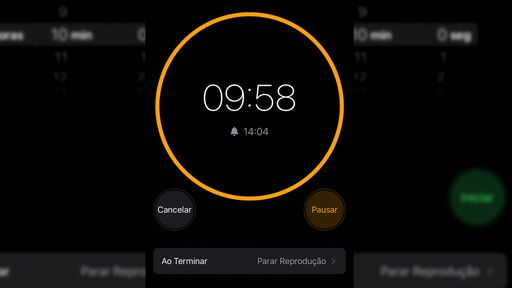 Como pausar músicas e vídeos automaticamente com o Timer do iPhone