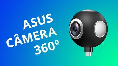 Câmera 360° da ASUS: um acessório para seu smartphone Android [Análise / Review]