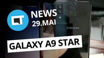 Vídeo do Galaxy A9 Star; Chamada de áudio e vídeo em grupo no WhatsApp e+ [CT Ne