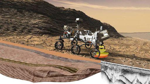Rover Perseverance usará radar para buscar sinais de vida no interior de Marte