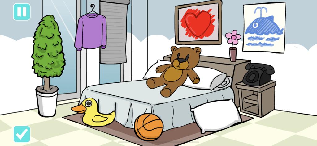 O aplicativo conta com uma série de interativos e brincadeiras didáticas
