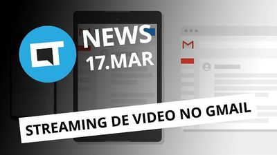 Streaming de vídeos no Gmail; nova classificação do Netflix; Nintendo Switch e +