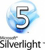 Microsoft Silverlight 5 logo