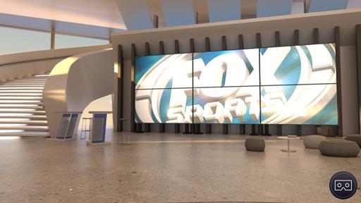 Fox Sports cria VR para assistir jogos em sala de estar virtual. Hein?