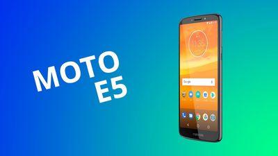 Análise | Motorola Moto E5