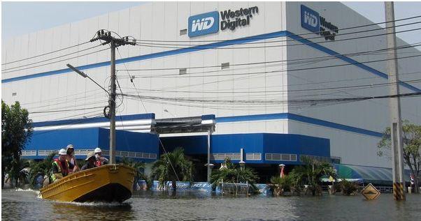 Enchente na Tailândia