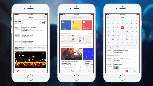 Facebook lança aplicativo exclusivo para eventos