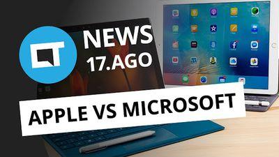 Treta Microsoft vs Apple, Hololens para todos, popularização de carros autônomos