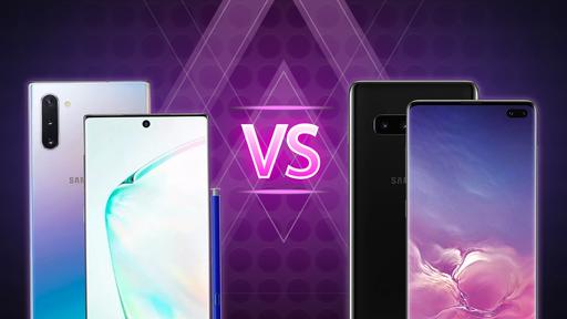 Galaxy Note 10 vs Galaxy S10+: quais são as diferenças?