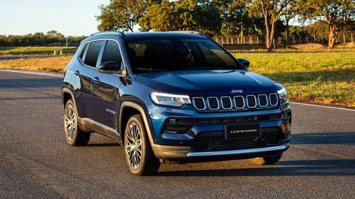 Novo Jeep Compass ganha motor turboflex e Wi-Fi e fica ainda mais tecnológico