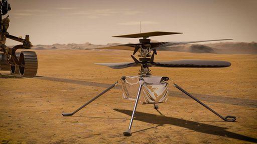 NASA adia primeiro voo do helicóptero Ingenuity para 14 de abril —no mínimo