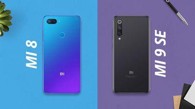 Xiaomi Mi 8 vs Mi 9 SE [Comparativo]