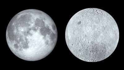 China libera foto panorâmica do lado afastado da Lua, tirada pela Chang'e 4