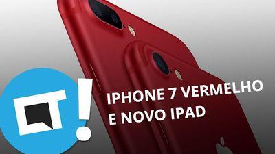 Novos iPhones Vermelhos, iPad por $329 e mais [Plantão CT]