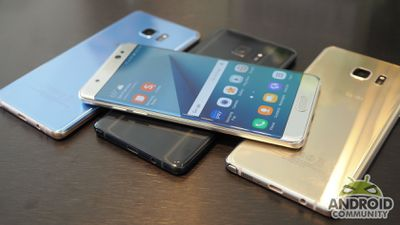 Samsung interrompe fabricação do Galaxy Note7