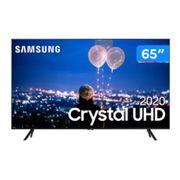 "Smart TV Crystal UHD 4K LED 65"" Samsung - 65TU8000 Wi-Fi Bluetooth HDR 3 HDMI 2 USB [À VISTA]"