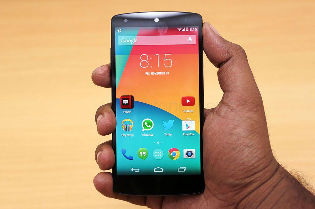 Um dos grandes trunfos do Nexus 5 foi custar bem menos que seus concorrentes topo de linha