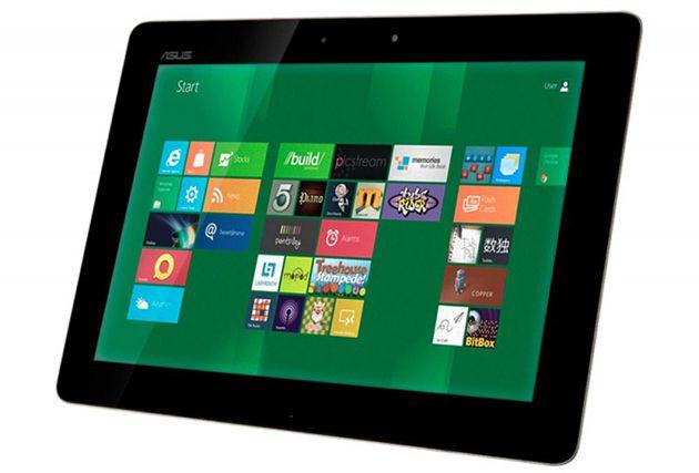 Windows 8 em um tablet