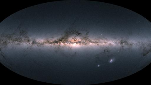 """Agência Espacial Europeia divulga """"mapa"""" detalhado da nossa Via Láctea"""