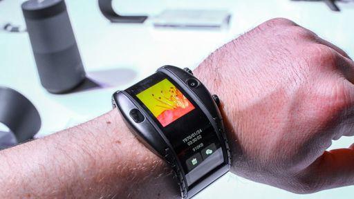 Smartwatch dobrável Nubia Alpha já está à venda na China