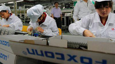 Foxconn cortou 50 mil contratos de trabalho desde outubro, segundo relatório