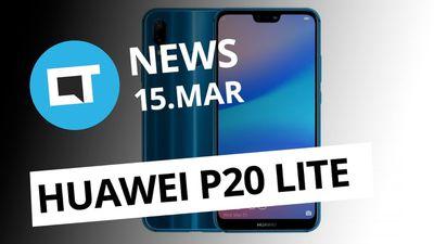 Hands-on mostra Huawei P20 Lite; Jovem transmite o próprio suicídio e+ [CT News]