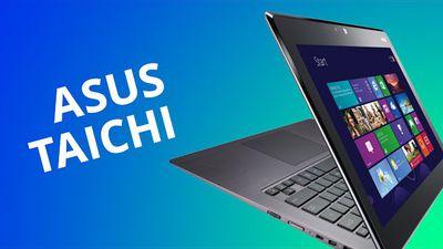 ASUS Taichi, um Ultrabook com duas telas e que se converte em tablet [Análise]