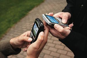 Internet em celulares
