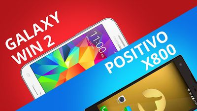 Samsung Galaxy Win 2 VS Positivo X800: qual é o melhor? [Comparativo]
