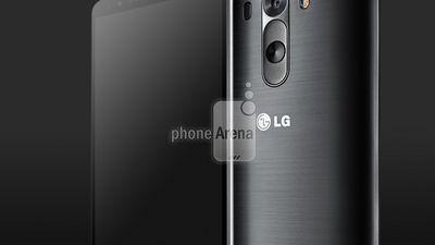 Foto compara tamanho do LG G3 e HTC One (M8)