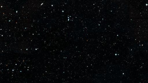 Astrônomos montam mosaico com imagens do Hubble mostrando evolução do universo