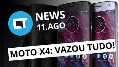 Moto X4 é homologado pela Anatel; Menino do Acre volta pra casa e + [CT News]