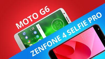 Moto G6 vs Zenfone 4 Selfie Pro [Comparativo]