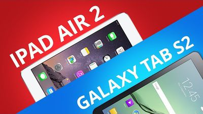 Samsung Galaxy Tab S2 vs Apple iPad Air 2 [Comparativo]